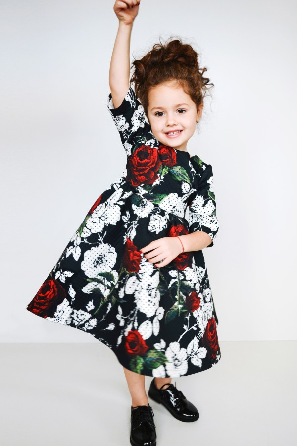 Платье Black Nokta Roses Dress, baby