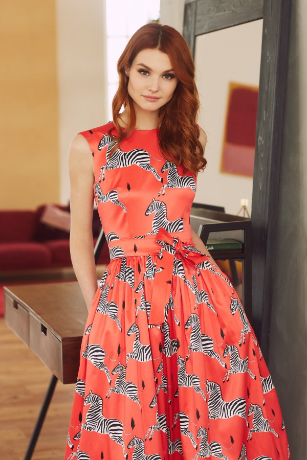 SAVANNAH RED Dress, midi