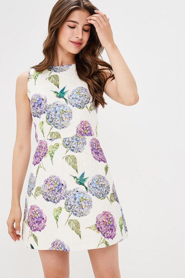 BELFORT Dress, FLOX PRINT Dress, trapeze