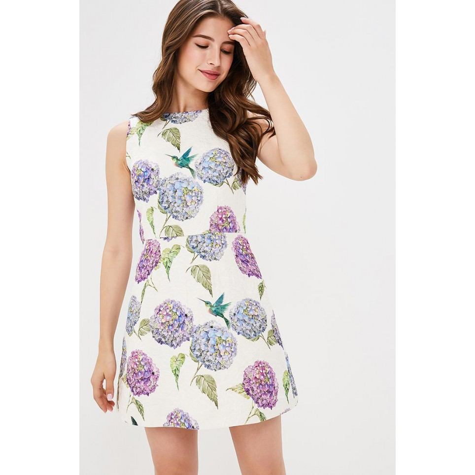 FLOX PRINT Dress, trapeze