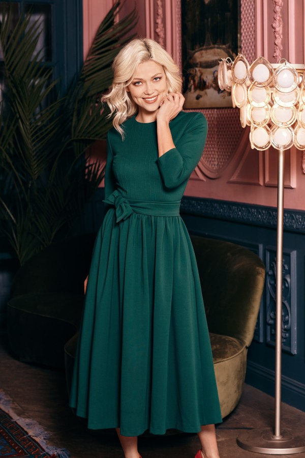 NEW YORK Dress, green