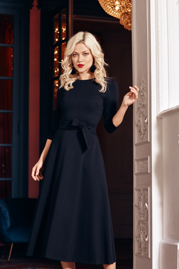 NEW YORK Dress, black