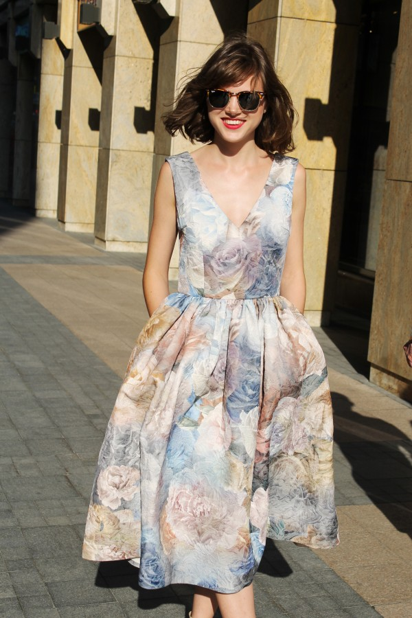 Платье Pearls and Peonies Dress, new