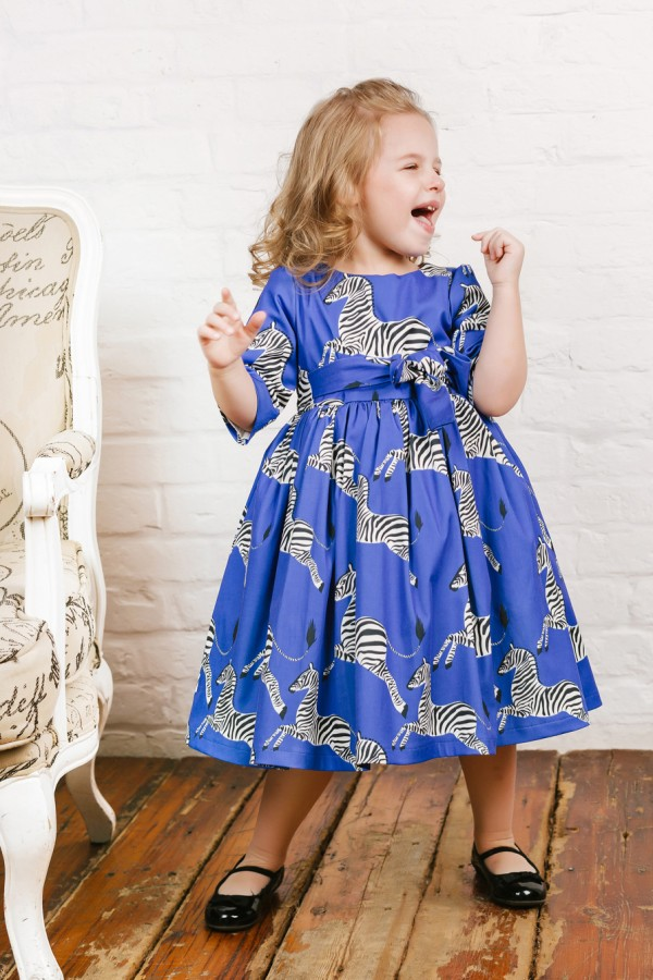 Savanna Blue Dress, baby