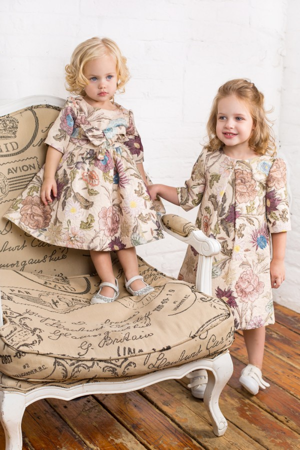 Florence Feel Trapeze Dress, baby