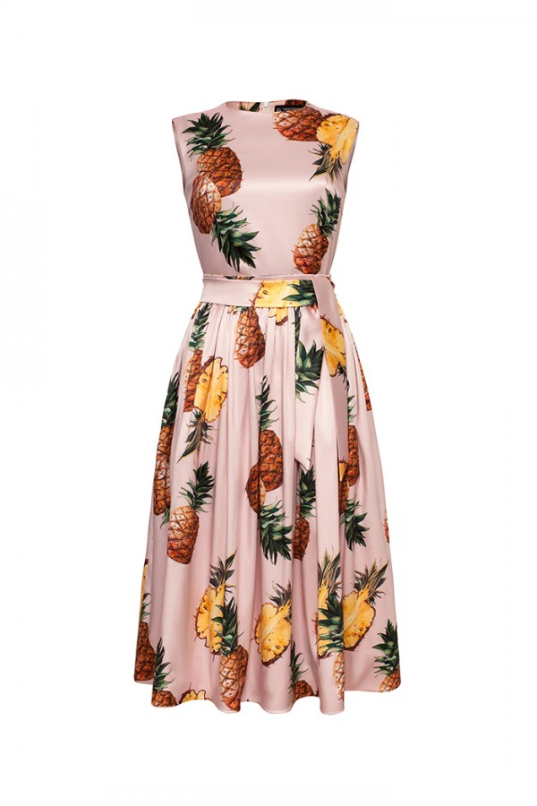 Tutto Pineapple Dress